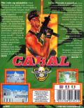 Cabal Commodore 64 Back Cover