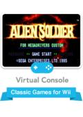 Alien Soldier Wii Front Cover