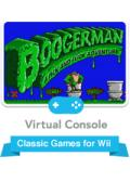Boogerman: A Pick and Flick Adventure Wii Front Cover