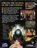 The Last Express DOS Back Cover