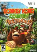 Donkey Kong Country Returns Wii Front Cover