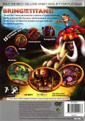 Crash of the Titans PlayStation 2 Back Cover