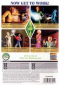 The Sims 3: Ambitions Macintosh Back Cover