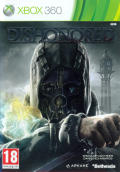 Dishonored Xbox 360 Front Cover