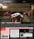 The Testament of Sherlock Holmes PlayStation 3 Back Cover