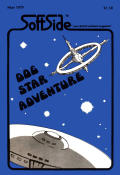 Dog Star Adventure TRS-80 Front Cover