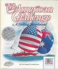 The American Challenge: A Sailing Simulation Apple II Front Cover