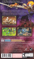 Jeanne d'Arc PSP Back Cover