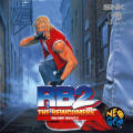 Real Bout Fatal Fury 2: The Newcomers Neo Geo CD Front Cover