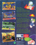 The Lemmings Chronicles Amiga Back Cover