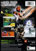 Bionicle Xbox Back Cover