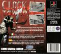 Clock Tower PlayStation Back Cover