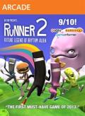 Bit.Trip Presents... Runner 2: Future Legend of Rhythm Alien Xbox 360 Front Cover
