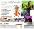 SaGa Frontier PlayStation Back Cover
