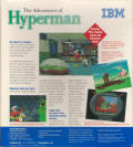 The Adventures of Hyperman Windows 3.x Back Cover