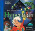 The Adventures of Hyperman Windows 3.x Other Cardboard folder front