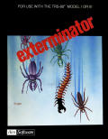 Exterminator TRS-80 Front Cover