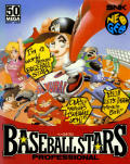 Baseball Stars Professional Neo Geo Front Cover Cardboard box
