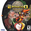 Evolution: The World of Sacred Device Dreamcast Front Cover
