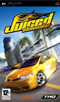 Juiced: Eliminator PSP Front Cover