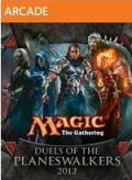 Magic: The Gathering - Duels of the Planeswalkers 2012 Xbox 360 Front Cover