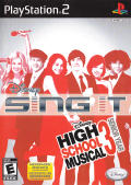 Disney Sing It: High School Musical 3 - Senior Year PlayStation 2 Front Cover