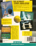 Jimmy Connors Pro Tennis Tour Atari ST Back Cover