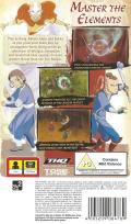 Avatar: The Last Airbender PSP Back Cover