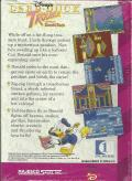 Deep Duck Trouble starring Donald Duck Game Gear Back Cover