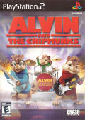 Alvin and the Chipmunks PlayStation 2 Front Cover