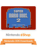 Super Mario Bros. 2 Nintendo 3DS Front Cover