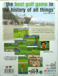 PGA European Tour Amiga Back Cover