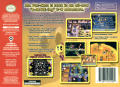 Ms. Pac-Man Maze Madness Nintendo 64 Back Cover