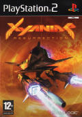 Xyanide: Resurrection PlayStation 2 Front Cover