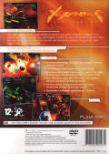 Xyanide: Resurrection PlayStation 2 Back Cover