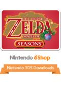 The Legend of Zelda: Oracle of Seasons Nintendo 3DS Front Cover