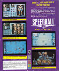 Speedball 2: Brutal Deluxe Amiga Back Cover