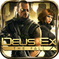 Deus Ex: The Fall iPad Front Cover