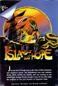The Island of Lost Hope Amiga Front Cover