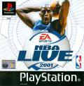 NBA Live 2001 PlayStation Front Cover