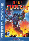 Turrican 3 Genesis Front Cover