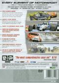 TOCA Race Driver 3 PlayStation 2 Back Cover
