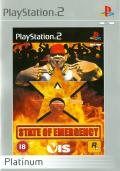 State of Emergency PlayStation 2 Front Cover