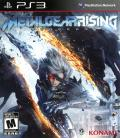 Metal Gear Rising: Revengeance PlayStation 3 Front Cover