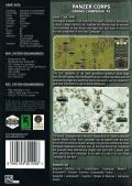 Panzer Corps: Grand Campaign '41 Windows Back Cover