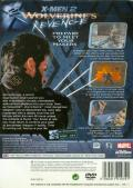 X2: Wolverine's Revenge PlayStation 2 Back Cover