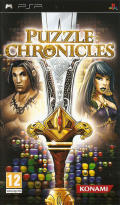 Puzzle Chronicles PSP Front Cover