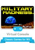 Military Madness Wii Front Cover