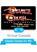 Devil's Crush Wii Front Cover