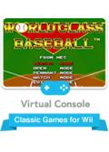 World Class Baseball Wii Front Cover